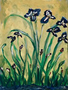 Happy Irises