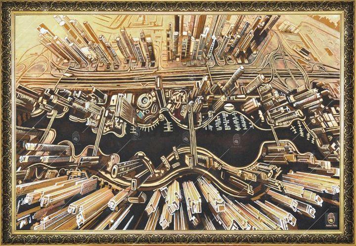 Dubai Marina - Exotic Paintings