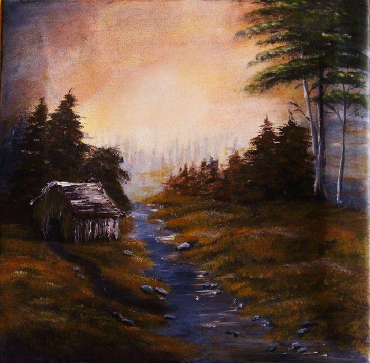 Autumn Path - Paiva Paintings