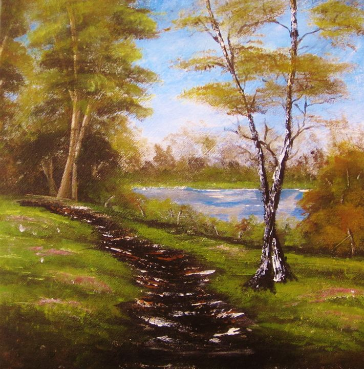 Woodland Path - Paiva Paintings
