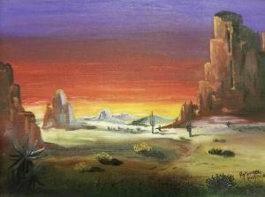 Desert Sunset - Nance-Nicholas
