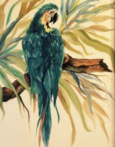 Teal Parrot - Nance-Nicholas