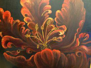 Deep Red Blossom - Nance-Nicholas