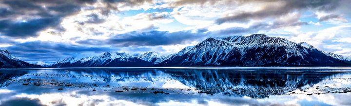 Mountain reflection Alaskana - Robert Allen Originals