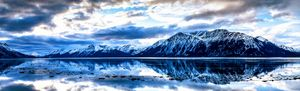 Mountain reflection Alaskana - Robert Allen Originals