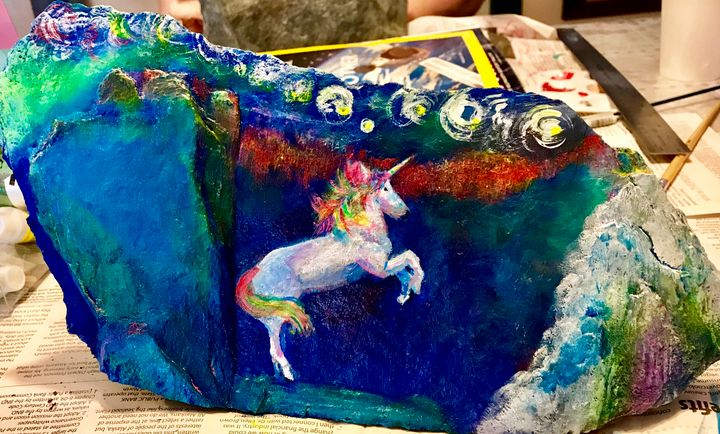 Unicorn blue - Robert Allen Originals
