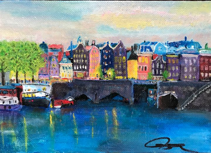 Amsterdam Eve - Robert Allen Originals