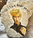 Acrylic on rock