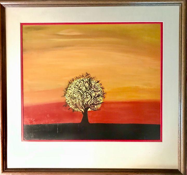The sunsets on the tree of life - Robert Allen Originals