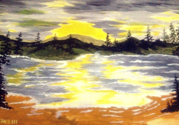 Sunny Lake - Perkinsdesigns