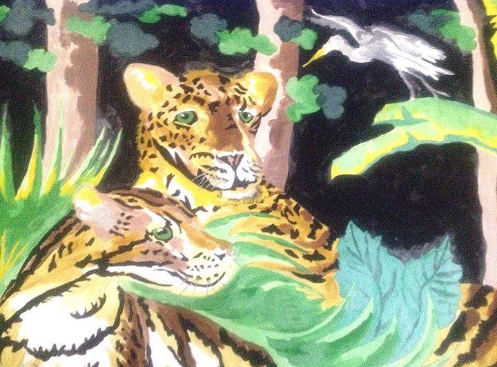 Tiger in the Jungle - Perkinsdesigns