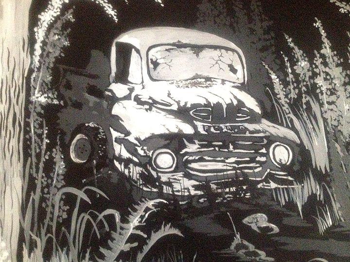 Broken down Ford - Perkinsdesigns