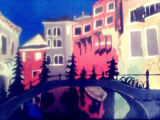 colorful buildings - Perkinsdesigns