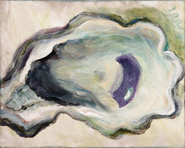 Grey Oyster - Decorative Impressions by Ann Lutz