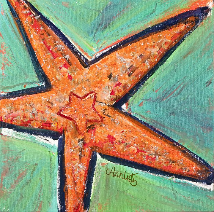 Starfish - Decorative Impressions by Ann Lutz