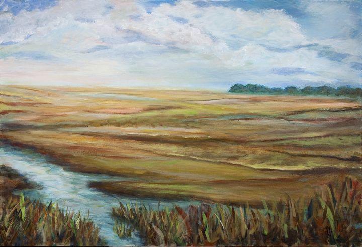 Marsh - Decorative Impressions by Ann Lutz