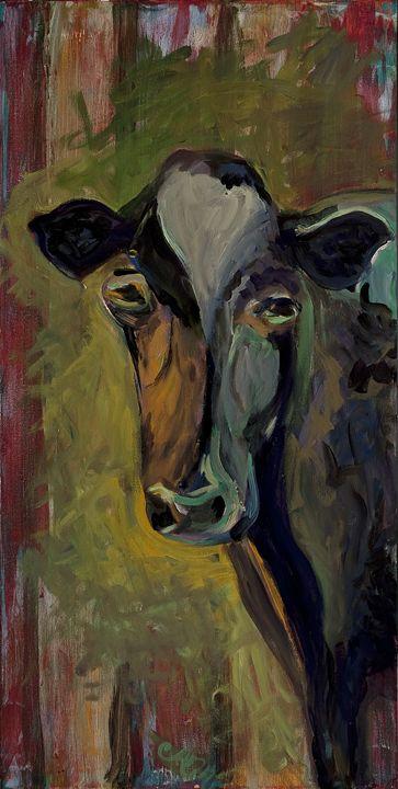 Cow - Decorative Impressions by Ann Lutz