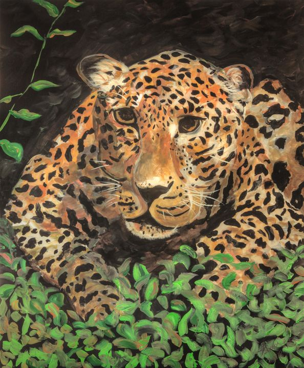 Leopard - Decorative Impressions by Ann Lutz