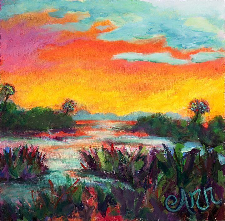 Sunshineyness - Decorative Impressions by Ann Lutz