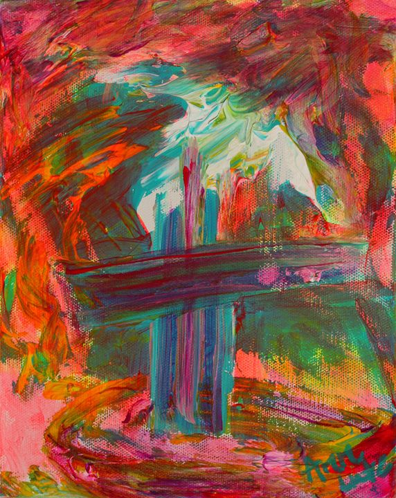 Angel - Decorative Impressions by Ann Lutz