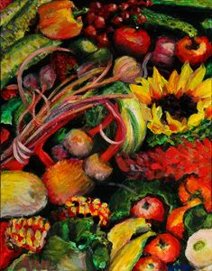 Fruit and Veggies - Decorative Impressions by Ann Lutz
