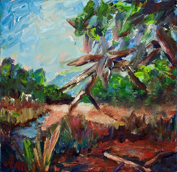 Miles of Marsh - Decorative Impressions by Ann Lutz