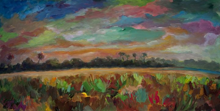 Color Explosion - Decorative Impressions by Ann Lutz