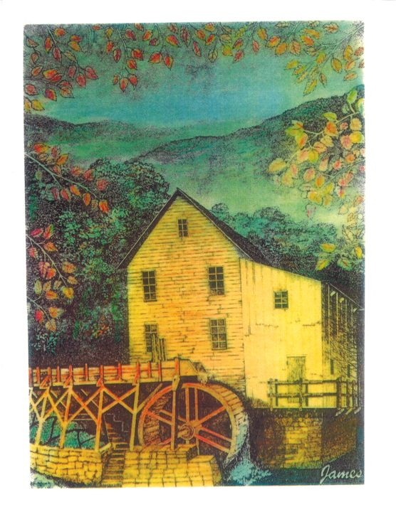 The Mill - GaryJamesArts.com