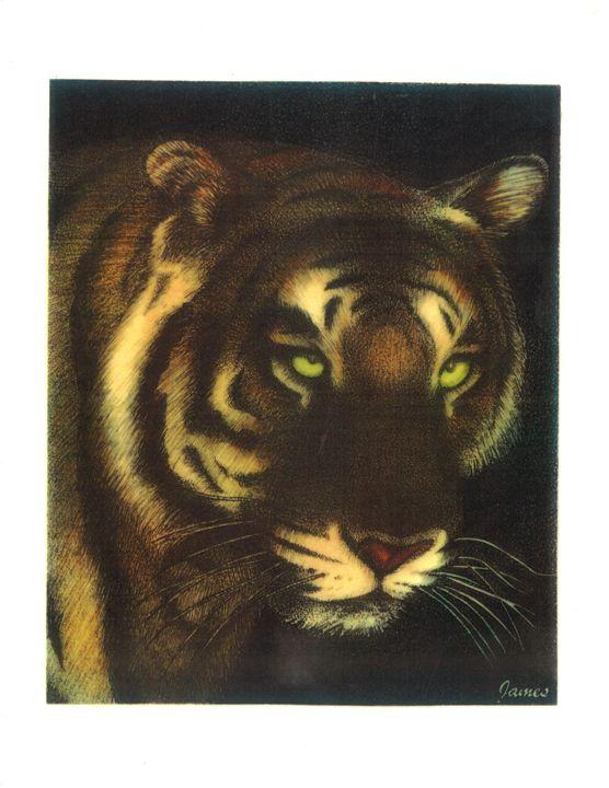 Tiger - GaryJamesArts.com
