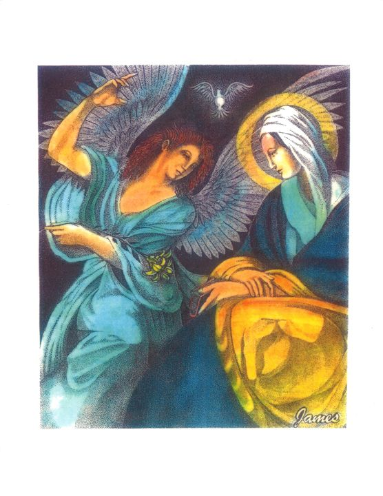 The Annunciation - GaryJamesArts.com
