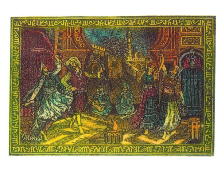 Family Tapestry - GaryJamesArts.com