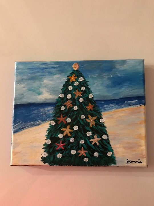 Christmas on the beach - Crafty J designs