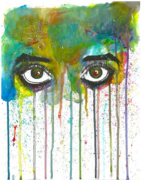 Color Tears - Daniel R. Oliver