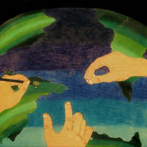 A Drawing to Earth - Mr.Tryart'sGallery