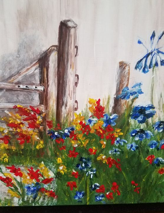 Country garden - Candace Wells
