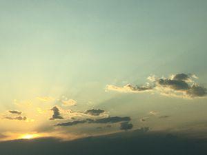 Sunshine after a storm