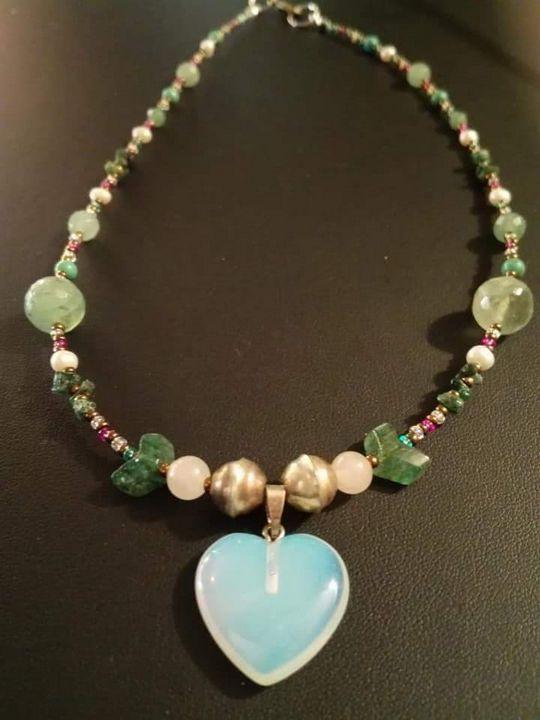 Opale heart spirit - Plume & Curiosités