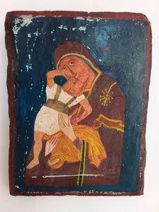 Sainte Marie and son