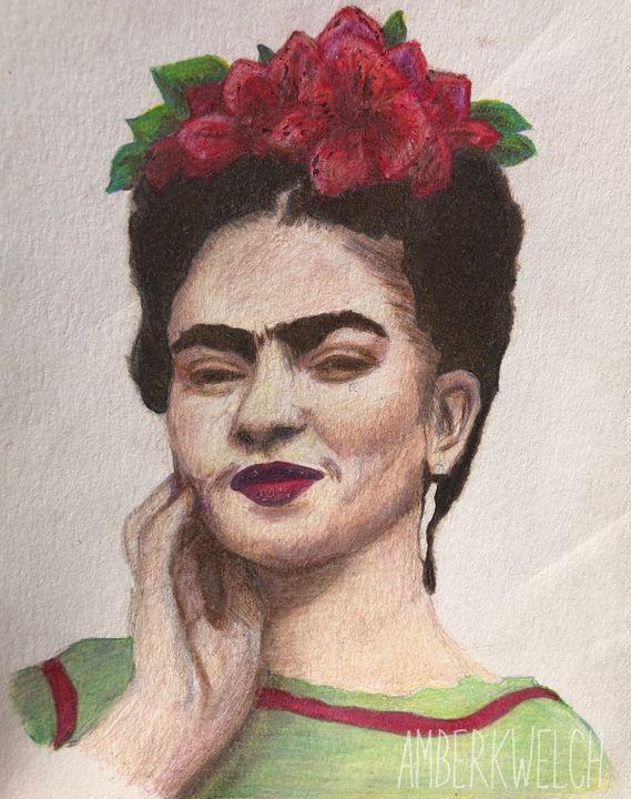 Frida Kahlo - Amberkwelchart