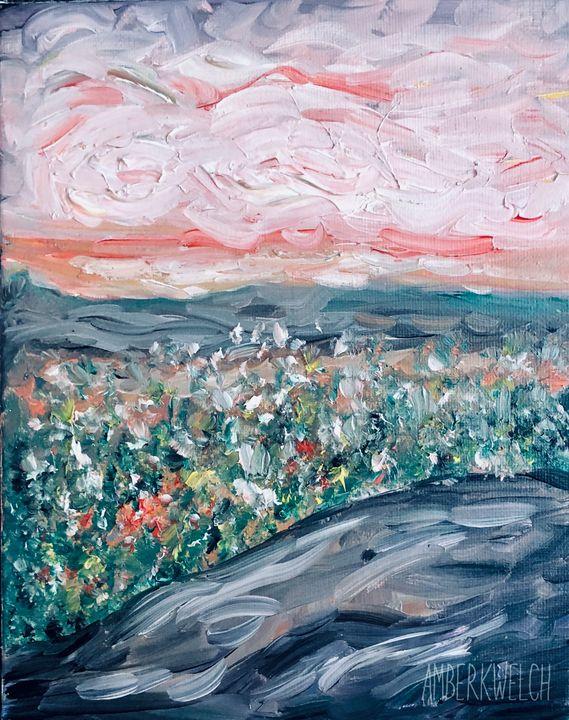Flower Field - Amberkwelchart