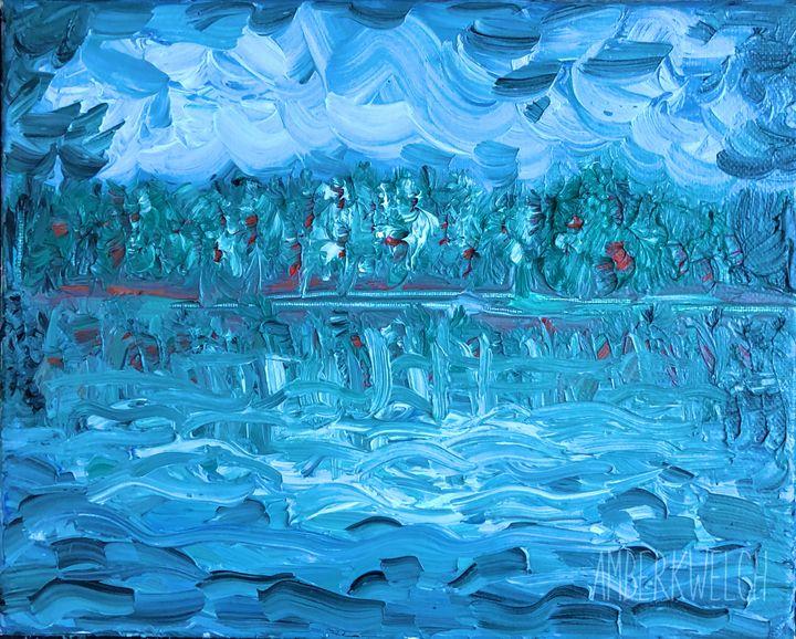 Blue Scenic - Amberkwelchart