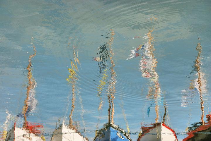 Brest, old ships and reflect - Gilles Larbi