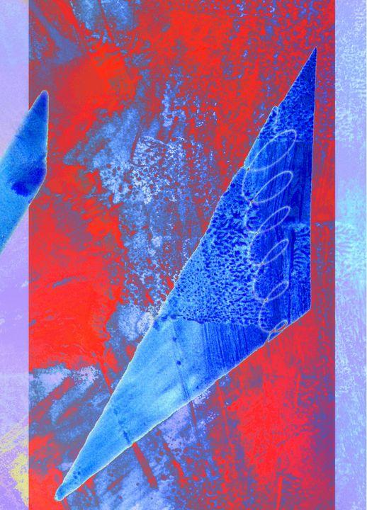 Ombre bleue - Gilles Larbi