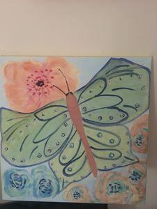 Children fantasy butterfly