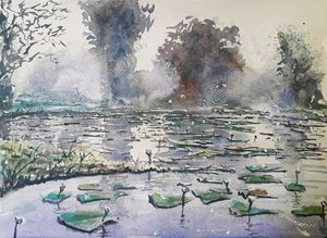 Watercolor Landscape 2