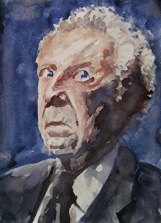 Watercolor Portrait 1 - Maroo Art