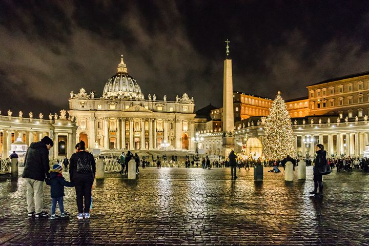 Saint Peter Square Rome - Photography