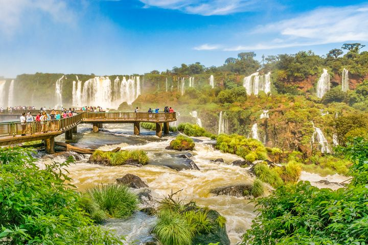 Devil Throat Waterfalls from Brazili - Photography