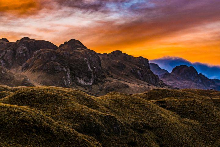 Cajas National Park Cuenca Ecuador - Photography