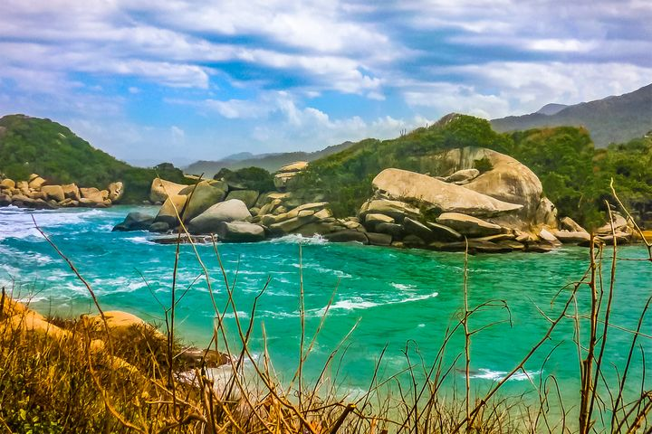 Landscape of Tayrona Nature Park in - Photography